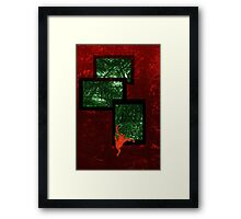 Leap into the jungle Framed Print
