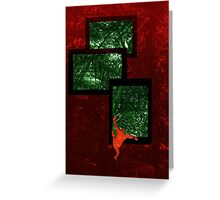 Leap into the jungle Greeting Card