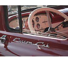 Custom Cab Photographic Print