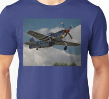 Hawkeye Flies - Replica Mustang @ Tyabb 2012 Unisex T-Shirt