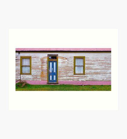 Blackwood - house in township Art Print