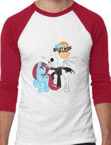 My Little Nightmare Men's Baseball ¾ T-Shirt