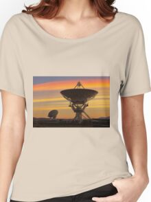Picture of Radio Telescopes Women's Relaxed Fit T-Shirt