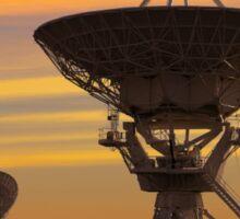 Picture of Radio Telescopes Sticker