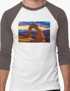 Arches National Park Men's Baseball ¾ T-Shirt