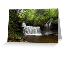 R. B. Ricketts Falls II Greeting Card