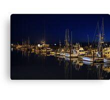 Crescent City harbor Canvas Print