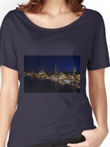 Crescent City harbor Women's Relaxed Fit T-Shirt