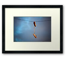 Laces. Framed Print