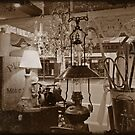 Visit to the Antique Shop #2 by Julie Sleeman