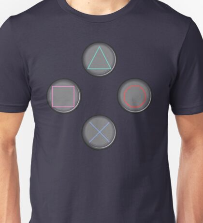 PS3 Buttons Unisex T-Shirt