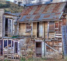Dilapidated Hotel, Sofala, NSW, Australia by Adrian Paul