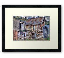 Dilapidated Hotel, Sofala, NSW, Australia Framed Print