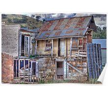 Dilapidated Hotel, Sofala, NSW, Australia Poster