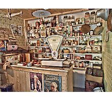 The Local Shop Photographic Print