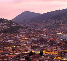 Quito night panorama by ammit