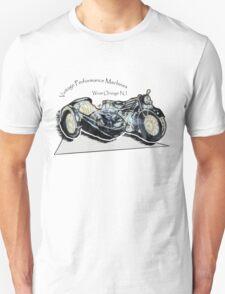 Vintage Performance Sidecar Unisex T-Shirt