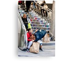 Oxford Street Purchase Canvas Print
