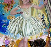Princess Jessica - ballet girl by Helen Imogen Field