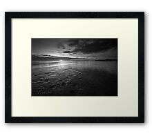 Foreshore Sunset - Lytham, Lancashire Framed Print