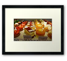 simply delicious Framed Print