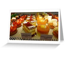 simply delicious Greeting Card
