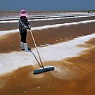Salt Mounding by Dave Lloyd