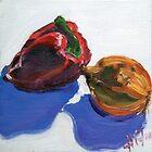 Pepper and onion by Helen Imogen Field