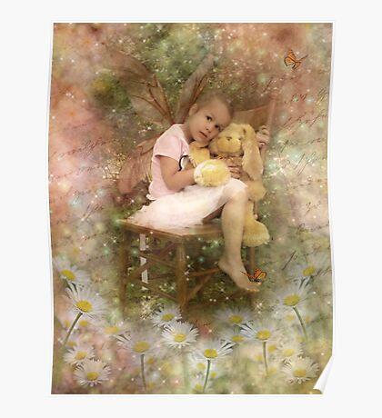 Tired Little Fairy Poster