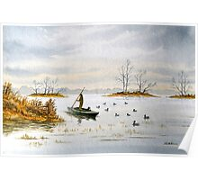 The Island Duck Blind Poster
