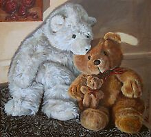 Teddies by Helen Imogen Field