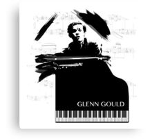 Piano Genius Canvas Print