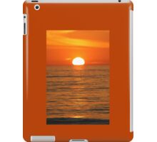 Orange Sunset iPad Case/Skin