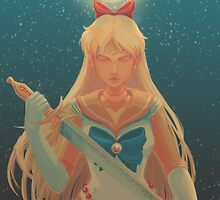 Sailor Venus- Shadow of the Moon by hollarity