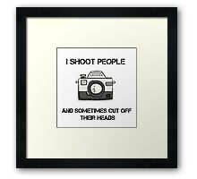 Photographer's Funny Dream Framed Print
