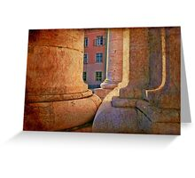 light in architecture Greeting Card