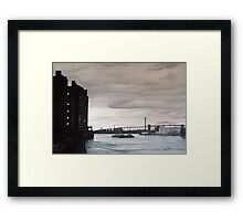 Towards the Bronx - East River, New York Framed Print