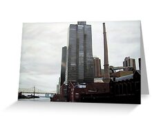 Towards Rockefeller University - Queensborough Bridge Greeting Card