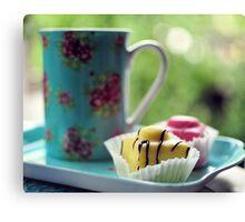 afternoon tea.. Canvas Print