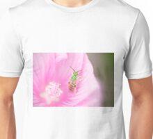 Green Metallic Bee Unisex T-Shirt