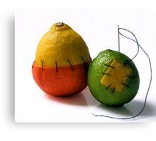 strange fruit.. Canvas Print