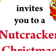 Nutcracker Christmas Sticker