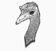 Emu Evil Eye! by plastictrees