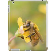 Honeybee on Wood Sorrell iPad Case/Skin