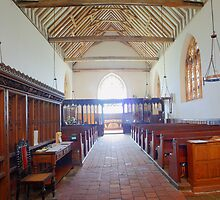 St John The Baptist, Smallhythe - Interior by Dave Godden