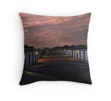 Bridge In The Night (Grays Lake Bridge) Throw Pillow