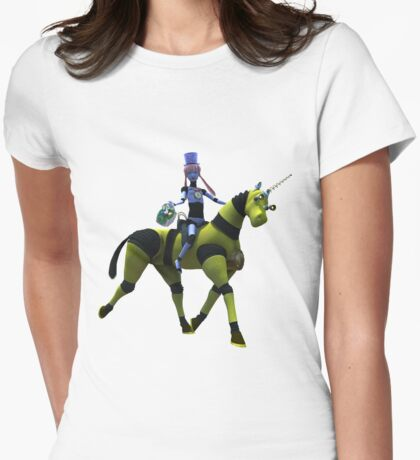 Sci-Fi Easter Womens Fitted T-Shirt