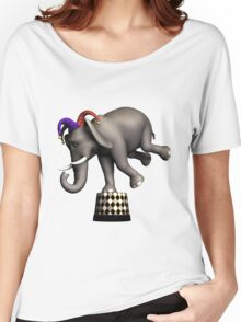 Circus Elephant Women's Relaxed Fit T-Shirt