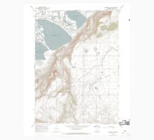USGS Topo Map Oregon Campbell Lake 279248 1967 24000 Kids Tee