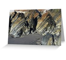 Tortured Geology Greeting Card